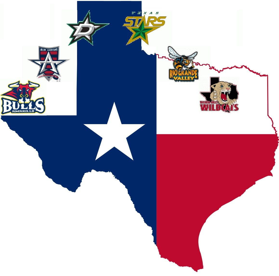 Lone Star Hockey Post Season Down To Two Teams - Why is texas called the lone star state