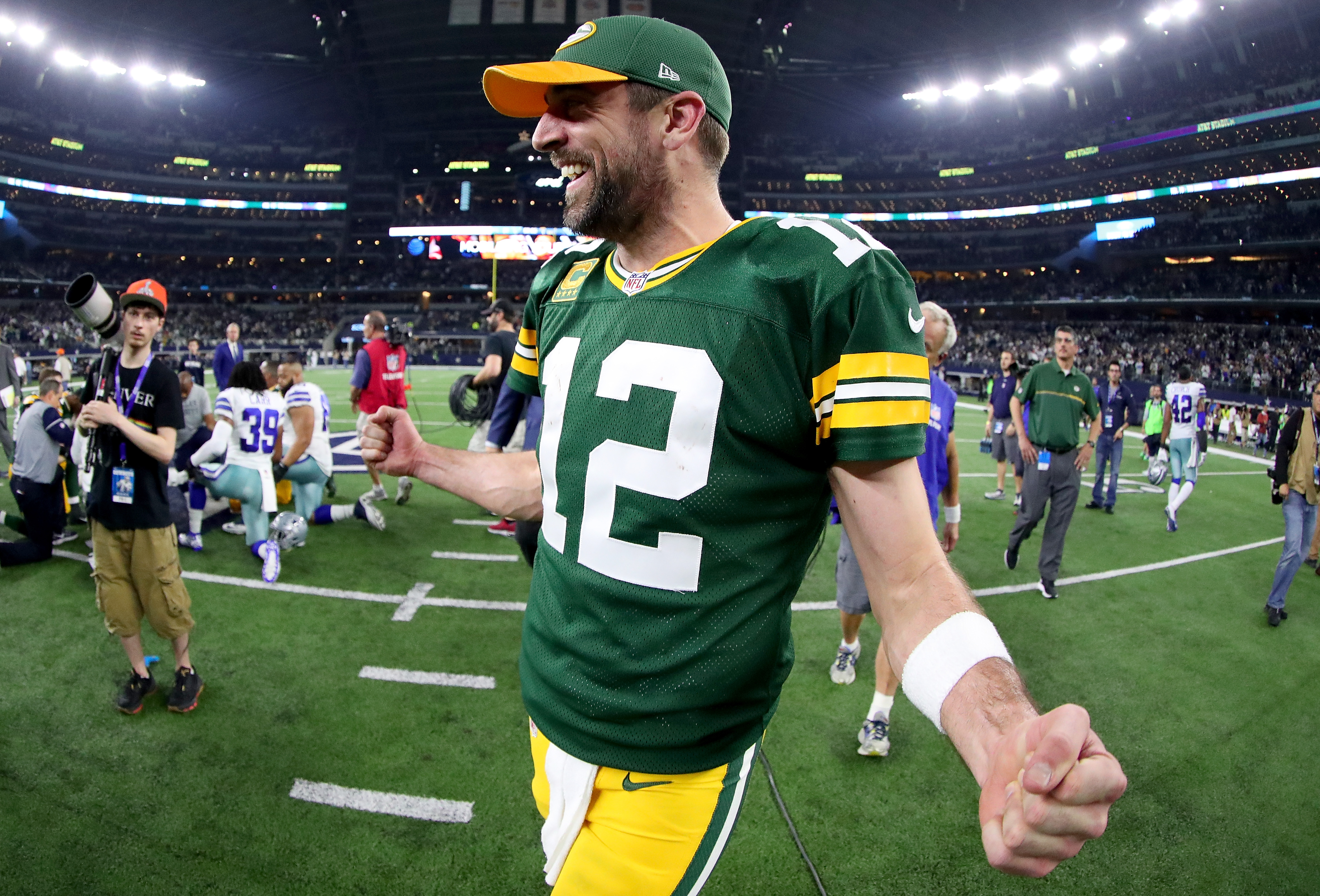 Cowboys How Aaron Rodgers Beats Rod Marinelli Every Time